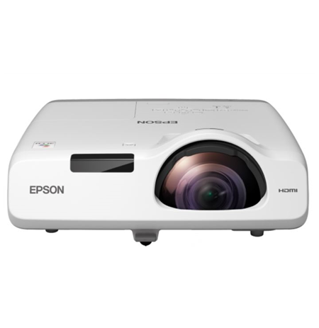 Epson Short Throw Series EB-530 XGA (1024x768), 3200 ANSI lumens, 16.000:1, White,