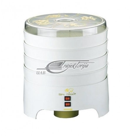 Food dehydrators for mushrooms and fruits Niewiadów 970-01 PS/4 ( 300 W , White )