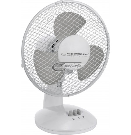 Fan Esperanza  EHF004WE (Desktop, Gray, White)