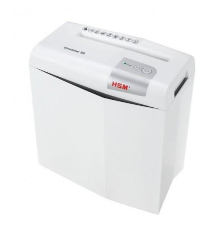 HSM Shredstar S5 - strips 6mm/ 5 sheets 80 g/ 12 l bin/ DIN 2