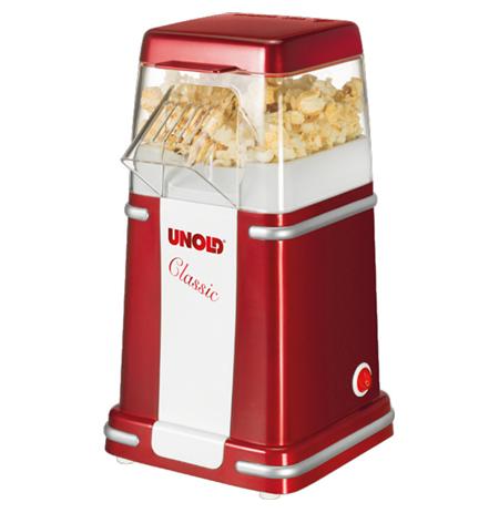 Popcorn Maker Unold Classic 48525 900 W, Red/White