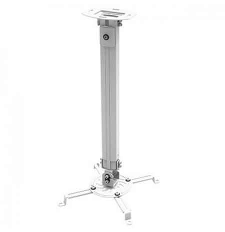 Techly universalus projektoriaus lubų laikiklis 54-90 cm 13,5kg sidabro spalvos