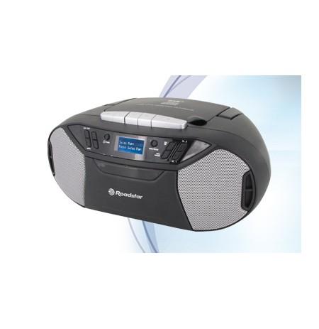 Magnetola.su CD/USB kasetė Roadstar RCR-777UD+