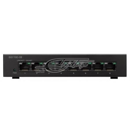 CISCO SG110D-08-EU 8x10/100/1000 Switch