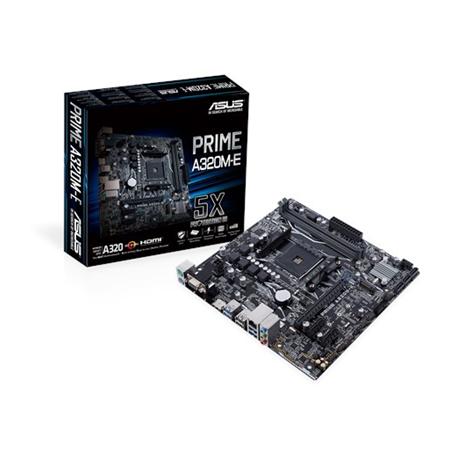 Asus PRIME A320M-E Processor family AMD