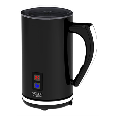 Adler AD 4478  Black,  Milk frother, 500 W