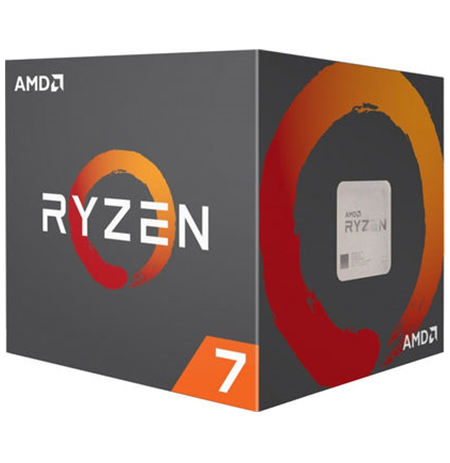 AMD Ryzen 7 2700X, 3.7 GHz, AM4, Processor threads 16, Packing Retail, Cooler included, Component for PC