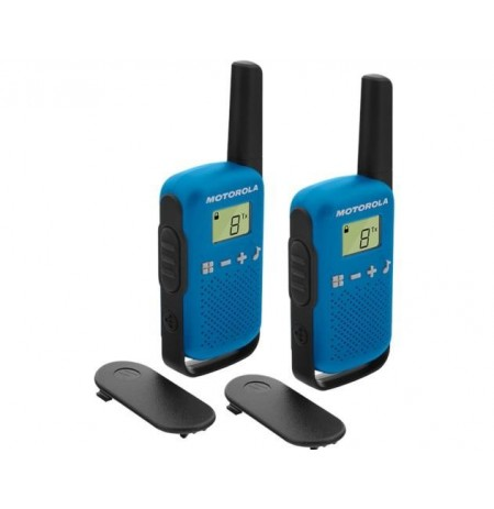 Motorola T42 short-wave radio, 4km, Blue