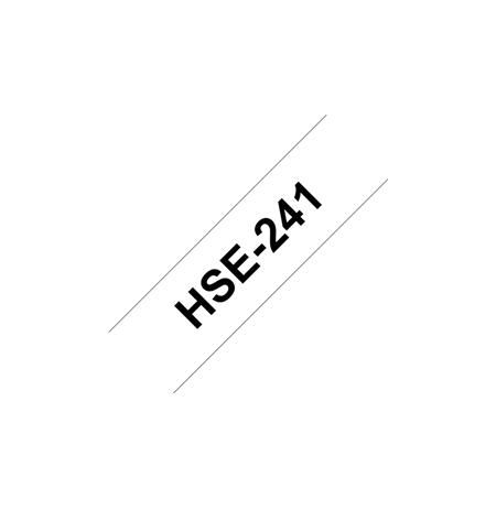 Brother HSE-241 Black on white, TZe, 1.5 m, 1.77 cm