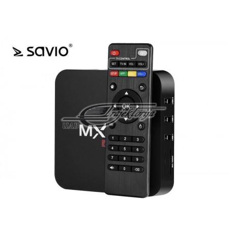 Multimedia player SAVIO TVBOX SAVTVBOX-02 (8 GB, black color)