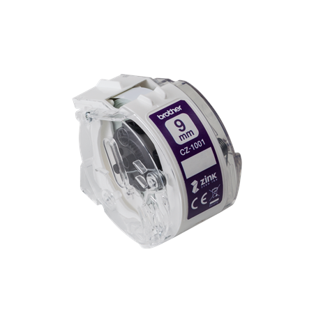 Brother CZ-1001 White,  Full colour continuous label roll, 5 m, 0.9 cm