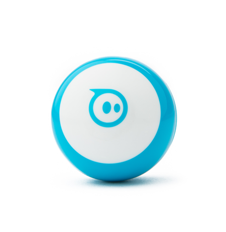 Sphero Mini Blu Robot  Blue/ white, No, Plastic
