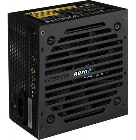 PSU AeroCool VX-550 PLUS 550W, Tylus 120mm ventiliatorius su Smart control