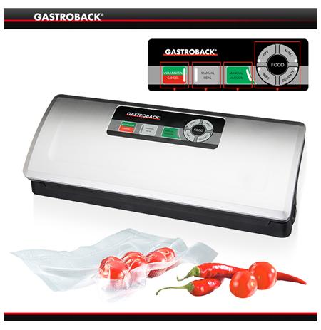 Gastroback Vacuum Sealer  46008 Two operating modes