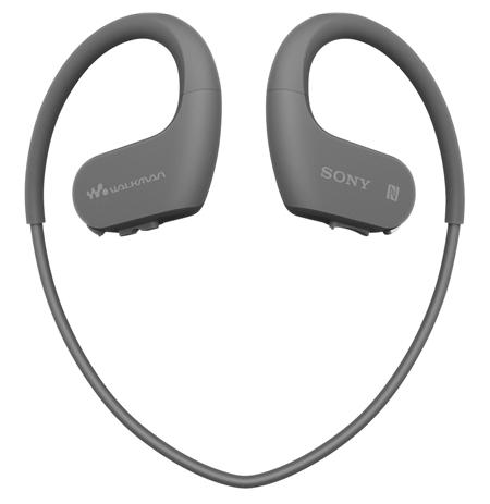 Sony Waterproof and dustproof Walkman NW-WS623B 4 GB, Yes, Black