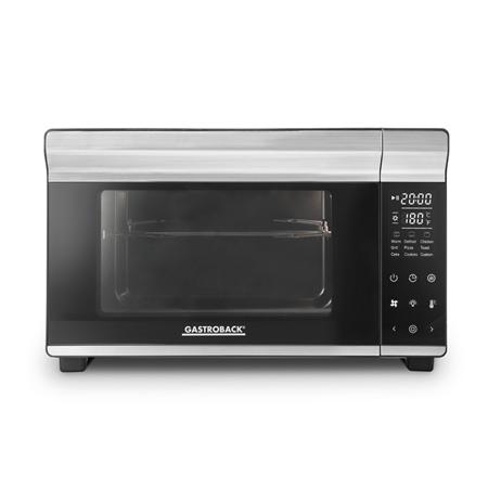 Gastroback Mini oven Design Bistro Oven Bake and Grill 26 L, Electric, Silver, 1500 W