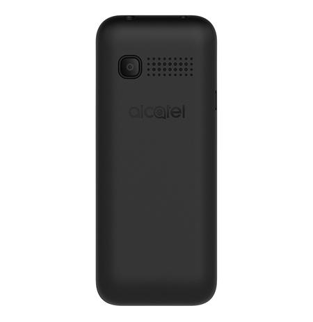 """Alcatel 1066D Black, 1.8 """", 128 x 160 pixels, 4 MB, 4 MB, Dual SIM, Built-in camera, Main camera 0.08 MP, 400 mAh"""
