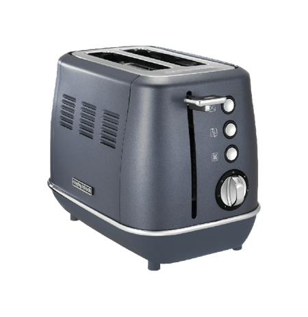 Morphy richards Toaster 224401  Steel Blue, Stainless steel, 900 W, Number of slots 2, Number of power levels 7,
