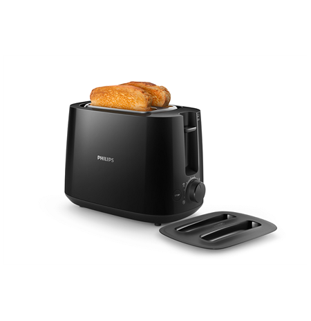 Philips Daily collection toaster HD2582/90 Black