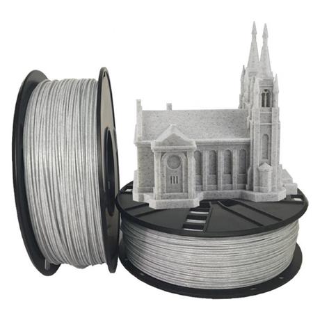"Flashforge PLA ""marble"" filament, 1.75 mm, 1 kg"