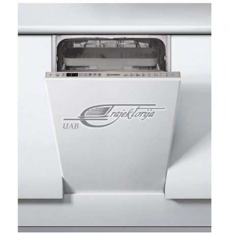 Dishwasher For installation Indesit DSIO 3T224 CE (44.8 cm, Internal, silver color)