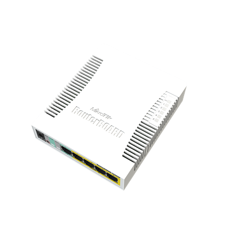MikroTik Cloud Router Switch RB260GSP 1000 Mbit/s, Ethernet LAN (RJ-45) ports 5, Rack mountable,