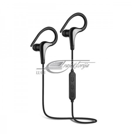 Headphones SAVIO WE-03 (Inner-ear canal, Bluetooth, wireless, with a built-in microphone, black color)
