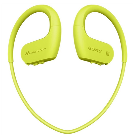 Sony Waterproof and dustproof Walkman NW-WS623G Lime Green, Yes, 4 GB