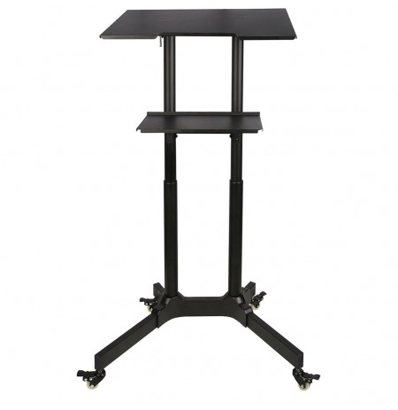 ART Trolley on wheels/work station for notebook/projector S-10B