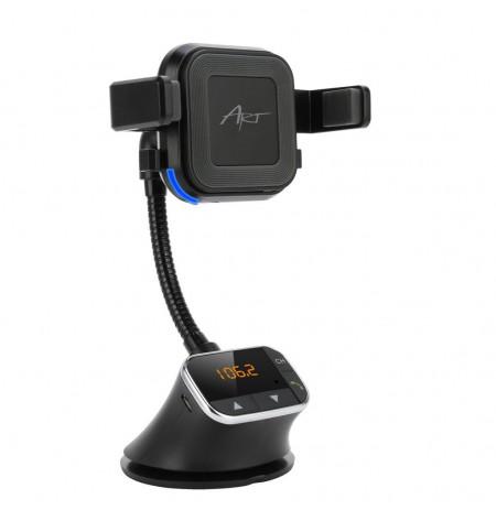 ART CAR TRANSMITER FM 4-in-1, handsfree kit, charger ind., handle FM-09BT