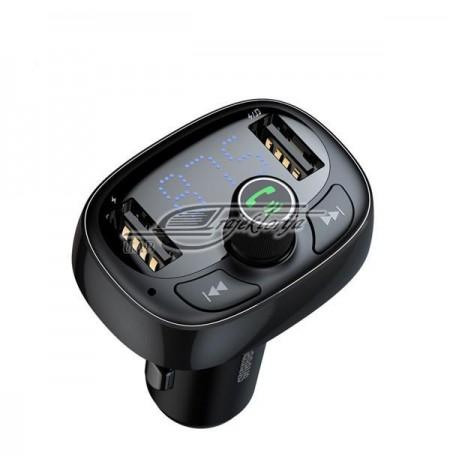 FM transmitter Baseus ENOCK S07 CCALL-TM01 (MicroSD, USB 2.0)