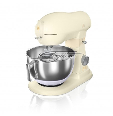 Mixer with bowl Swan DIE-CAST SP32010HON (1500 W, creamy color)