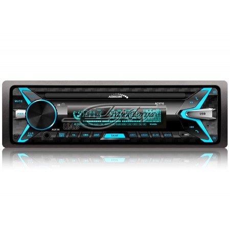 Portable stereo car AUDIOCORE AC9710B (USB + AUX + SD cards)