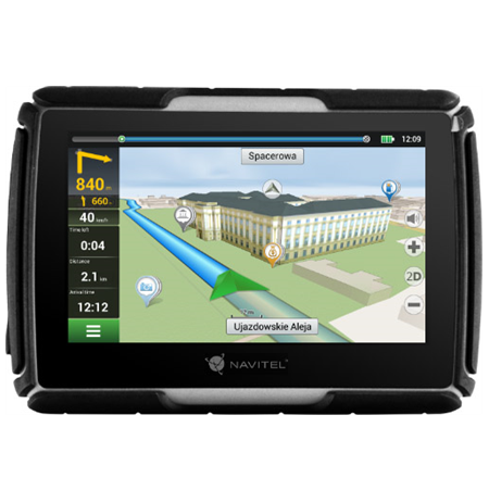 """Navitel Personal Navigation Device G550 MOTO 4.3"""" TFT touchscreen, Bluetooth, Maps included, GPS (satellite)"""