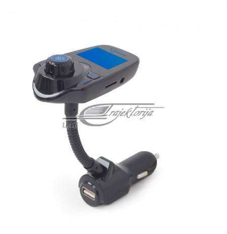 FM transmitter FM to the car lighter socket GEMBIRD BTT-01 (AUX, USB 2.0)