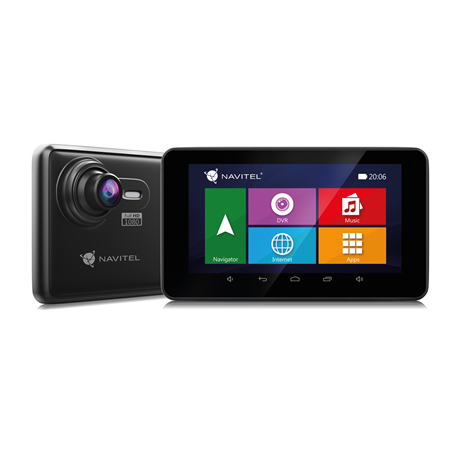 Navitel RE900 5&apos&apos IPS Touch Screen, Bluetooth, GPS (satellite), Maps included