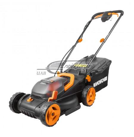 Lawnmower battery for grass WORX WG779E (340 mm)