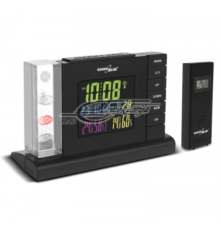 GREENBLUE WEATHER STATION COLOR DISPLAY GB141