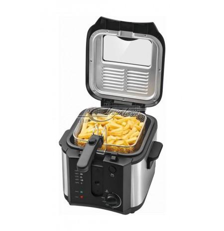 Fryer Clatronic FR 3649 (2,5 l, 1600W, black color)