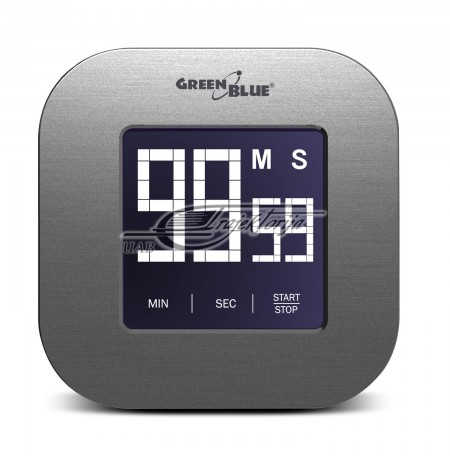 GREENBLUE DIGITAL MAGNETIC TIMER- SILVER GB524
