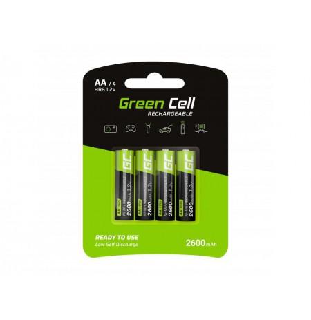 Green Cell 4x AA HR6 2600mAh baterija
