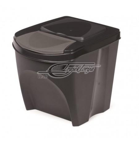 Basket dustbin Prosperplast SORTIBOX IKWB20-S433 (anthracite color)