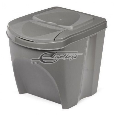 Basket dustbin Prosperplast SORTIBOX IKWB20-405U (gray color)