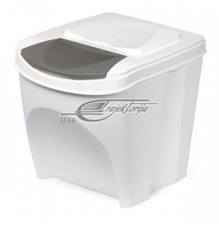Basket dustbin Prosperplast SORTIBOX IKWB20-S449 (white color)