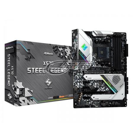 Mainboard Asrock 90-MXBAR0-A0UAYZ (AM4, 4x DDR4 DIMM, ATX, Quad CrossFireX)