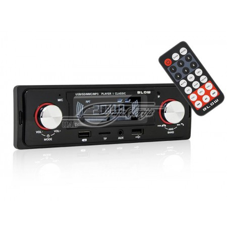 Radio car BLOW CLASSIC 78-287 (Bluetooth, USB + AUX + SD cards)