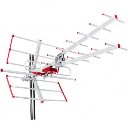 Maclean MCTV-855A External antenna TV DVB-T Combo UHF VHF active max 100dBuV
