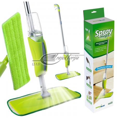 Mop with sprayer for floors GreenBlue GB830