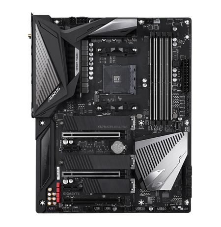 Gigabyte X570 AORUS ULTRA Processor family AMD