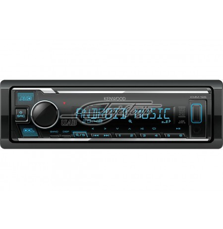 Portable stereo car KENWOOD KMM-125 (USB + AUX)